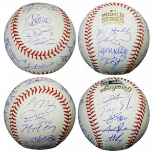 2016 Chicago Cubs Team Signed Rawlings Official 2016 World Series Baseball (23 Sigs)