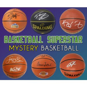 Schwartz Sports Basketball Superstar Signed Mystery Basketball – Series 20 (Limited to 50)