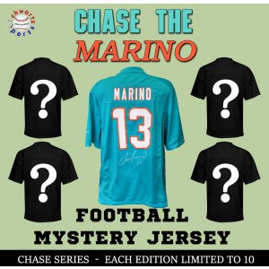 Chase Series 1 Signed Football Jersey Mystery – CHASE THE DAN MARINO Edition