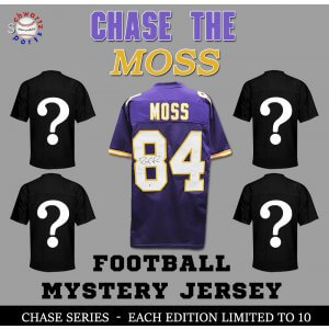 Chase Series 1 Signed Football Jersey Mystery – CHASE THE RANDY MOSS Edition